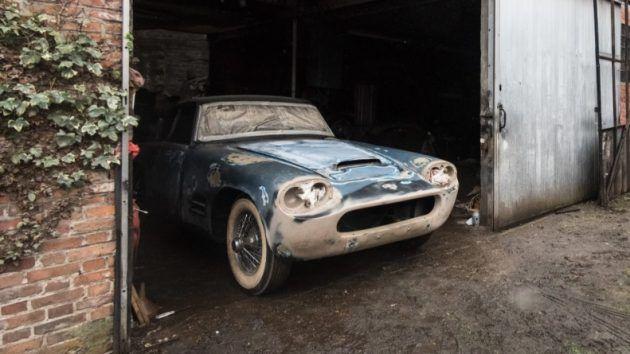 Auction Update Michelotti Jaguar Xk140 Sells For 423k Jaguar Barn Finds British Sports Cars