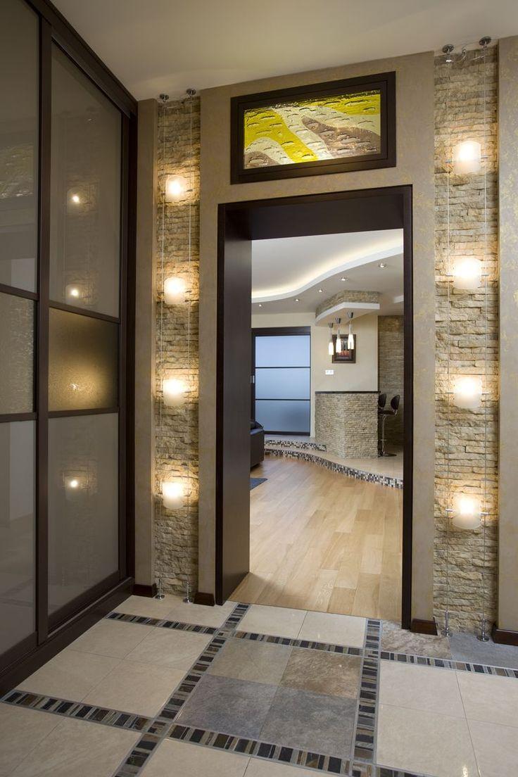 Портал из одного измерения в другое: из коридора в гостиную. #дизайн #интерьер #проект #портал #дизайнпроект