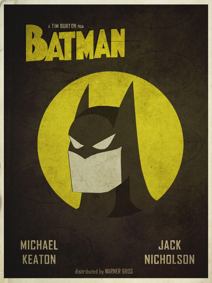 Reimagined Batman movie poster #batman #superhero
