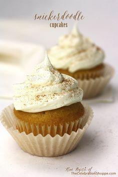 Snickerdoodle Cupcake Recipe {Easy Semi-Homemade Sweet}   Kim Byers, TheCelebrationShoppe.com