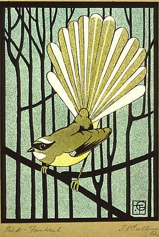 A fantastic 'Ex Libris' print from the 1930's - featured i think in an exhibition at the Auckland Museum a few years back