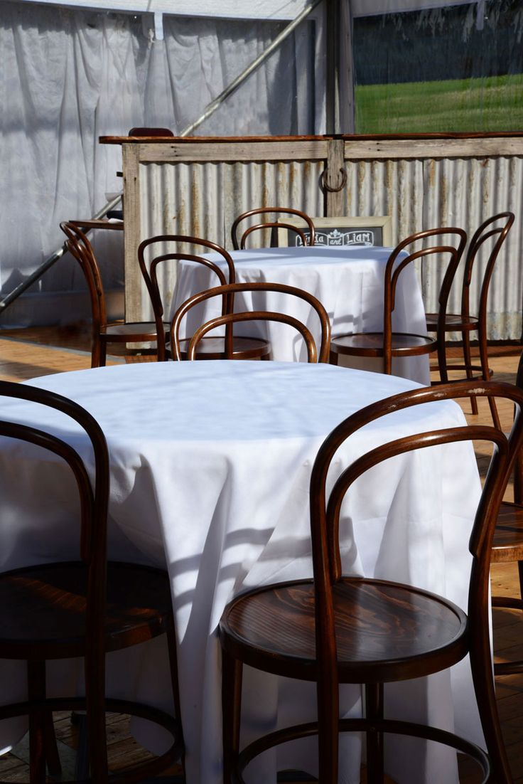 DESTINATION SPACES Creating destination spaces within a marquee is a big advantage when opting for a wedding in a marquee rather than a set venue. Design a space for pre-dinner drinks like this French-style cafe or create lounge spaces, bar areas, food and drink stations, and style it your way. #weddings #YourEventSolution