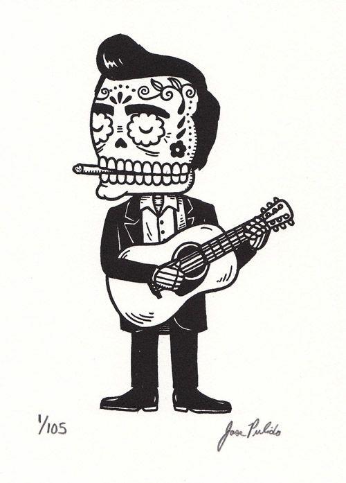 Artwork by my new favourite artist Jose Pulido.