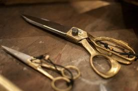 Een kleermakers schaar