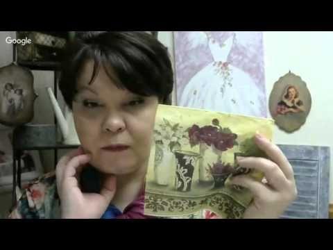 """""""Простые сложности при работе с салфеткой"""". Людмила Михайловская"""