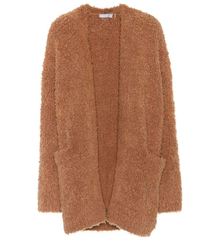 VINCE Wool And Cashmere Open Cardigan. #vince #cloth #cardigan
