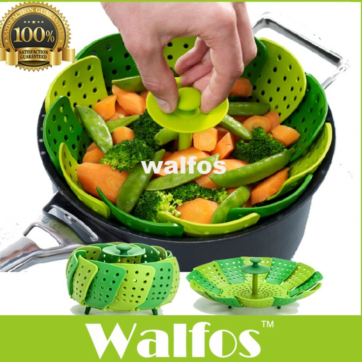 Walfos Cooking Microwave Silicone Food Steamer, Vegetable Steamer Basket BPA Free //Price: $ & FREE Shipping //     #fashion