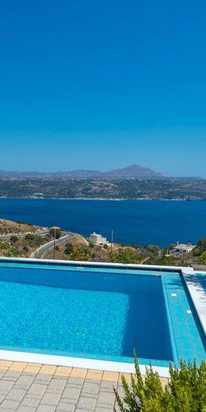 Villa Alkyon in Megala Horafia, Chania, Crete