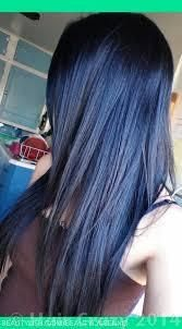 Black hair with Blue Tint without Bleaching? - Forums - HairCrazy.