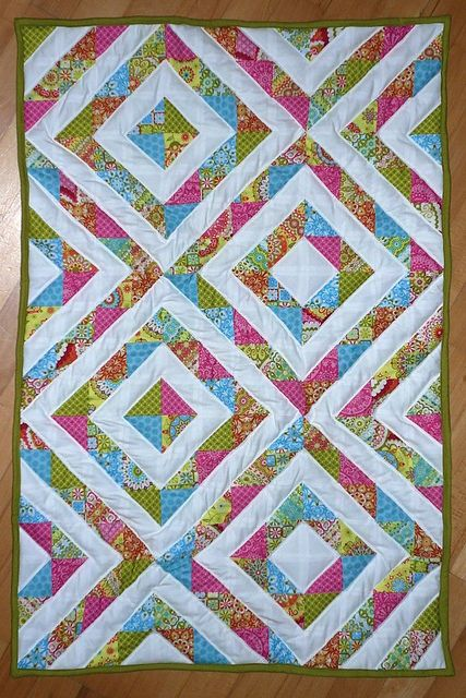 45 Best Half Square Triangle Quilt Images On Pinterest
