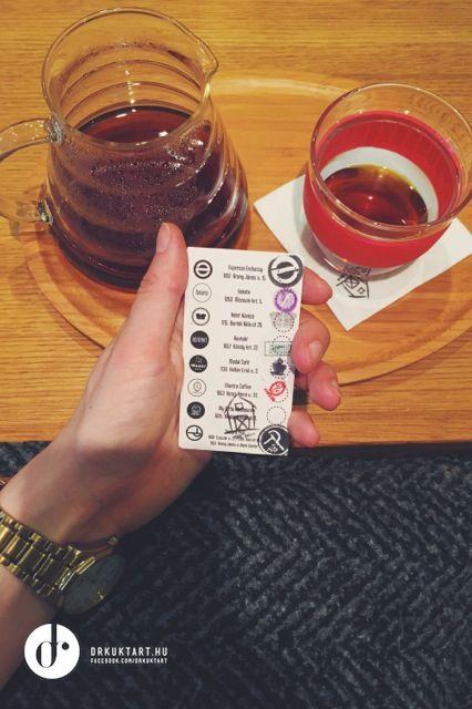 V60 filter - Kawa Bonanza - My Little Brew Bar - Budapest - More: http://drkuktart.blog.hu/2015/03/23/budapest_coffee_tour