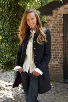 Anna Lascata Alexandra 3/4 Tweed Coat