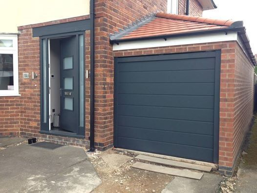 45 mm insulated and remote sectional garage door ANY COLOUR FREE