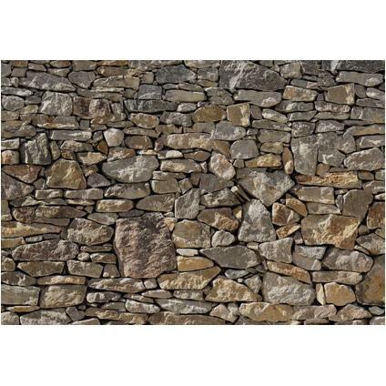 Fotobehang Stone wall vlies