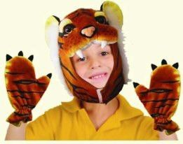 Tiger Cap and Claws