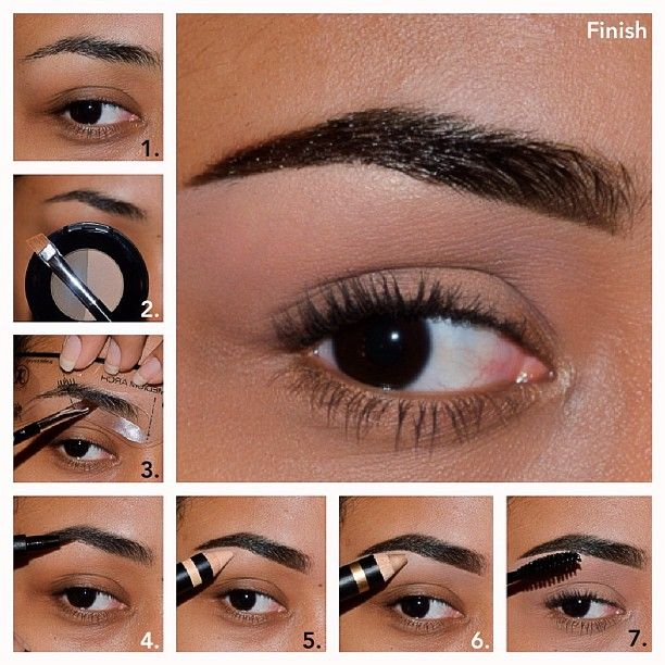 Anastasia Products 5 Element Brow Kit I Used The Brow Powder W The