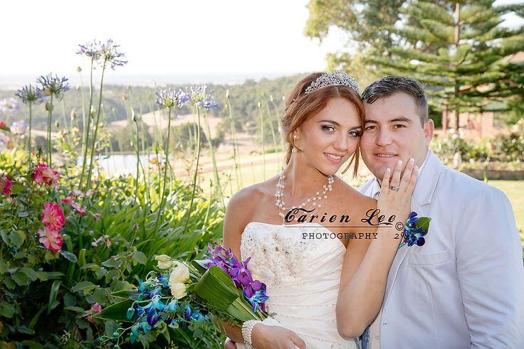 Dirkie and Lezanne got married in the Ferguson Valley