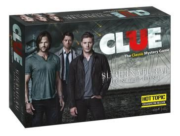 CLUE: Supernatural Collector's Edition | Clue Game | USAopoly Supernatural clue!