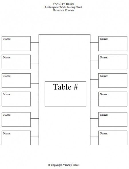 long table seating