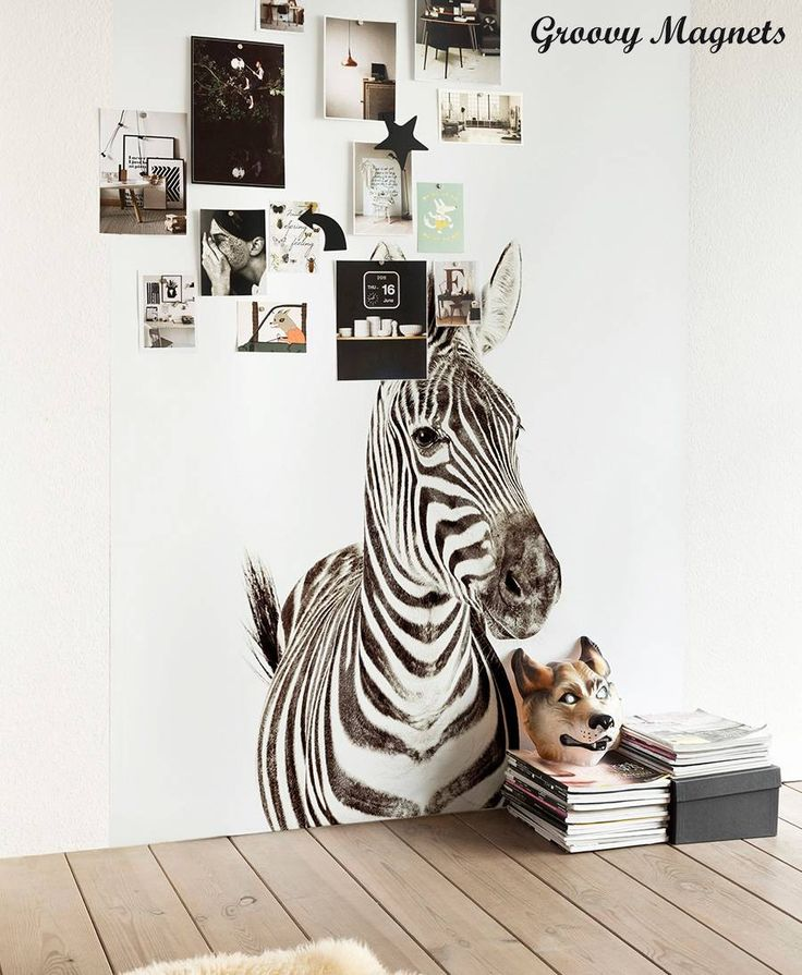groovy magnets tapete zebra magnetisch kaufen pinterest products magnets and zebras. Black Bedroom Furniture Sets. Home Design Ideas