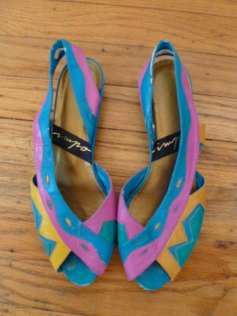 114 Best Images About 1980s Shoes Amp Hosiery On