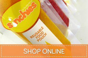 Sinchies - the original reusable food pouch
