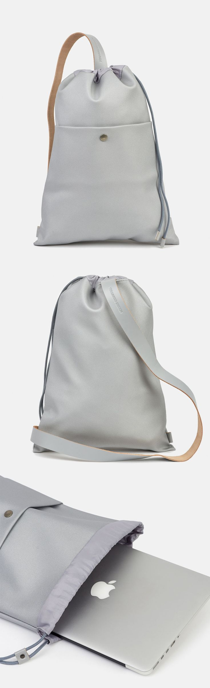 Keep it simple and light with the Minimalist Single strap backpack, which fits your daily essentials.