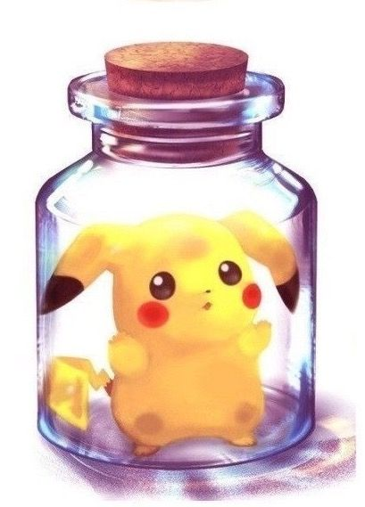 I ❤️ Pikachu ^^ ! But I won't it go in a Bottle from The Legend of Zelda saga  (>_<) !