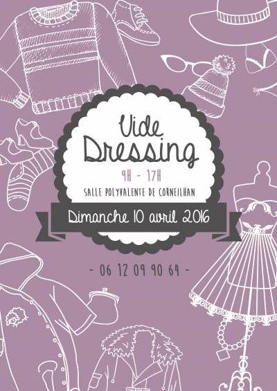 affiche Vide Dressing (mode, accessoires, vêtements, chaussures)