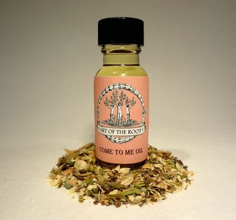 Come To Me Oil is the perfect blend to get the attention of a specific love interest.