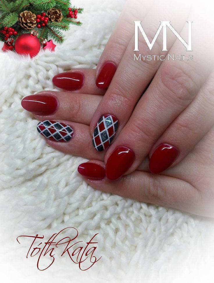 Christmas feeling pattern nail art