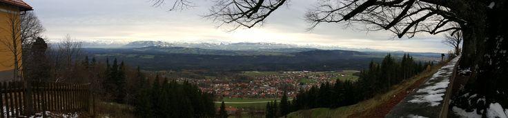 Hohenpeißenberg Panorama 20161115