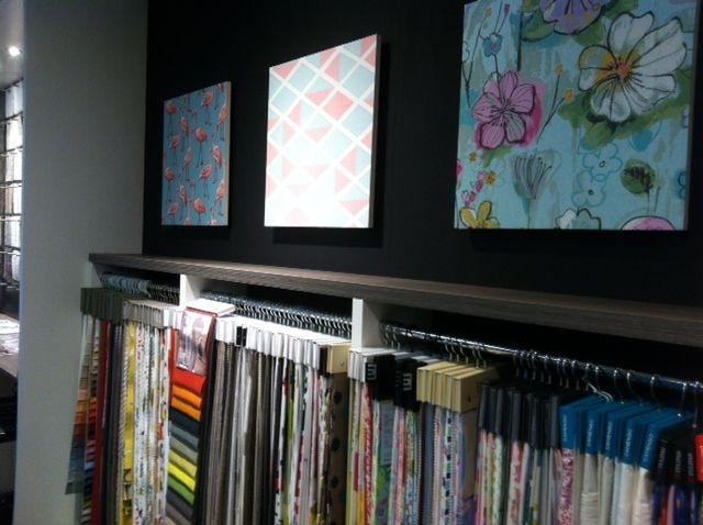 Ruim assortiment gordijnstoffen. Eijffinger, Arte, Hooked on Walls, Vadain, A House of Happiness, Casamance, Sanderson.