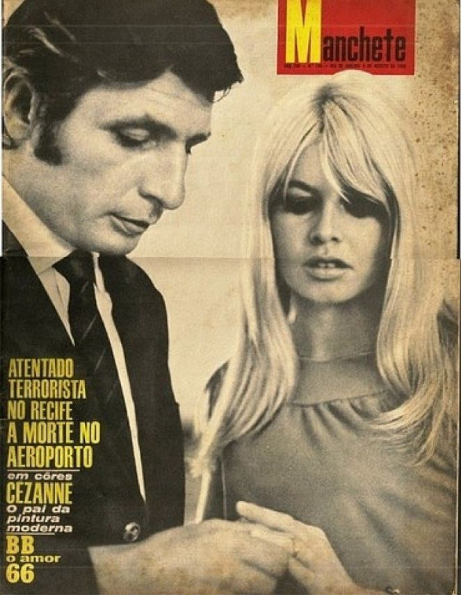 Manchete 1966 | Brigitte Bardot