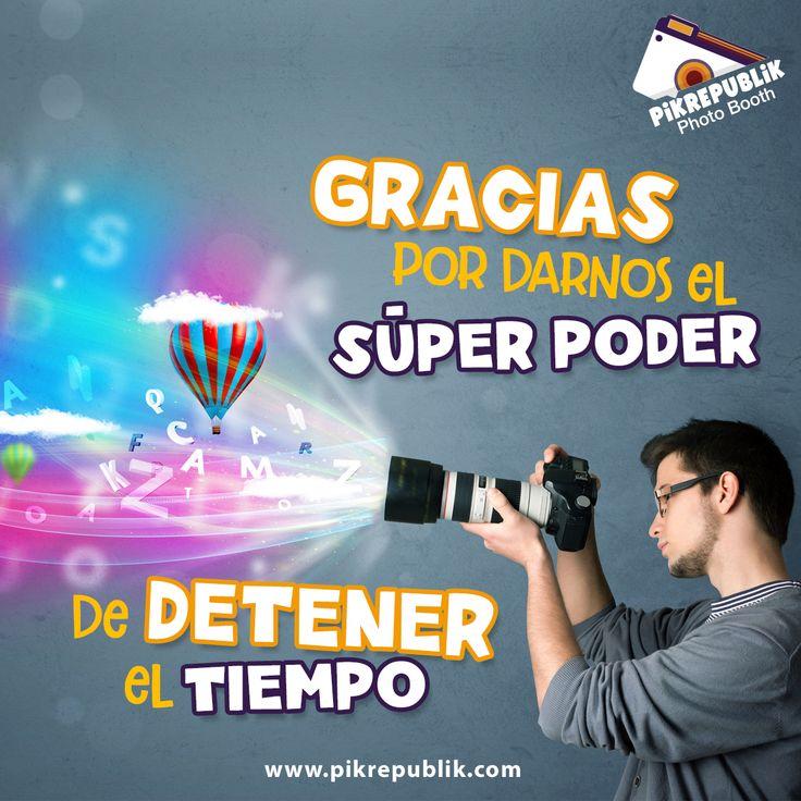 Hoy en Colombia se celebra el Día del Fotógrafo y Camarógrafo. Pik Republik les desea las más sinceras felicitaciones a quienes se encuentran del otro lado del lente. www.pikrepublik.com . . . . #photobooth #camera #smile #photoboothfun #pikusa #pikcolombia #fotocabina #fotocabinacolombia #events #sonrisas #top #photography #fotografia #Frases #quotes
