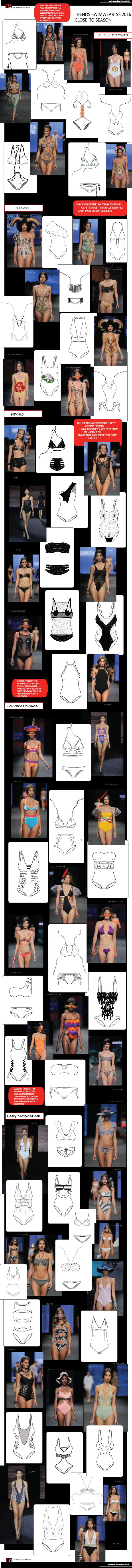 key shapes swimwear SS2016 close to season!!!!with fashion flats, colors and much more!!! only at www.modacable.com, subscribe to our website and receive the free access to the technical drawings 2016-2017!!!