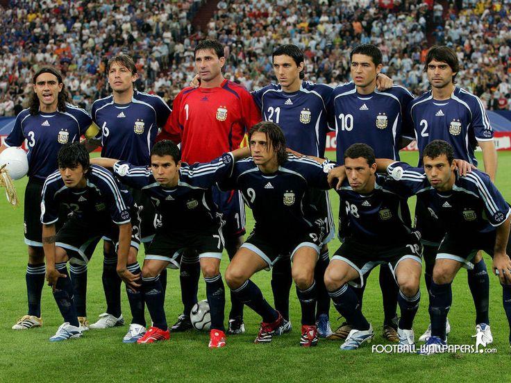 FÚTBOL. 2006. Selección #Argentina en el Mundial de Alemania.