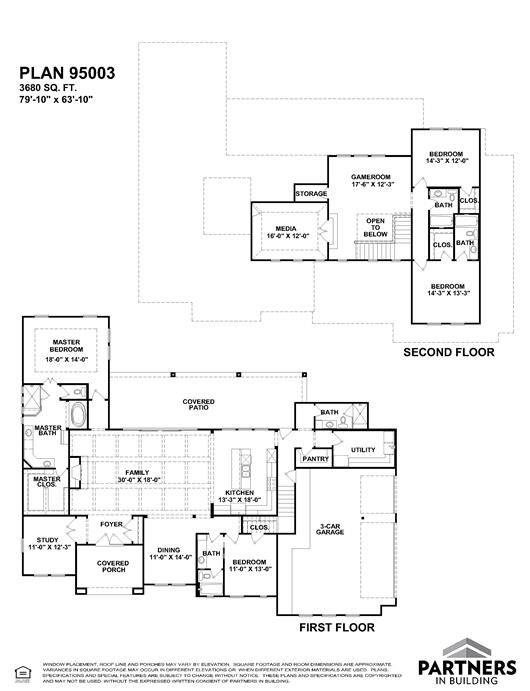 25 best partners in building images on pinterest house floor plans plan austin in town 95003 is a 3680 sq ft 4 bedroom home in austin in town built and designed by partners in building custom home builder in texas malvernweather Gallery