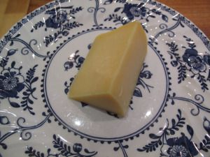 Smoked Lincolnshire Poacher. A rare Lincs cheese, this is one for jacket potatoes and bonfire nights...