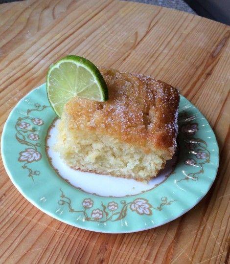 Gin and Tonic Cake #recipe from DeliciousMagazine.co.uk