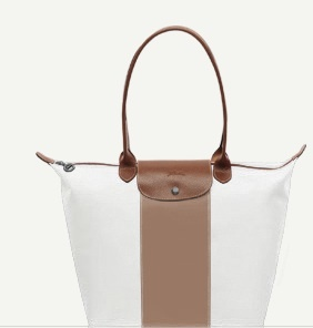 Custom designed Longchamp Pilage. Is white just right or prone to disaster?