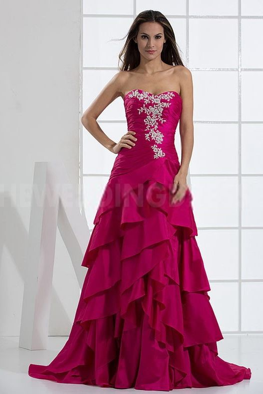 Satin Sweetheart Prom Dresses - Order Link: http://www.theweddingdresses.com/satin-sweetheart-prom-dresses-twdn4767.html - Embellishments: Beading; Length: Floor Length; Fabric: Satin; Waist: Natural - Price: 152.3USD