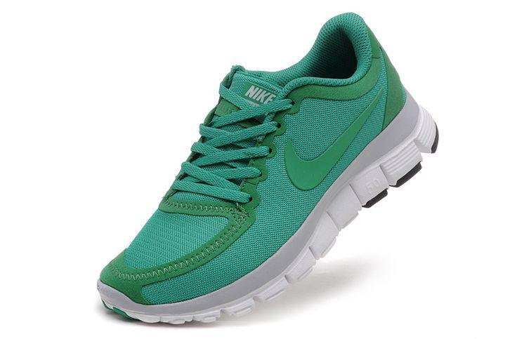 Nike Free 5.0 V4 Womens Leaf Green True White 511281 331 #cheap #green #