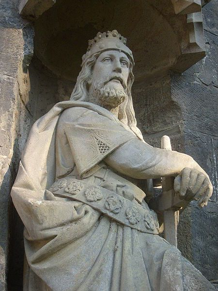 "Bretislaus I (Břetislav I., born c.1002-1005) - Duke of Bohemia, called also the ""Bohemian Achilles"", known for his raids, incl. to Poland with bringing the relics of St. Adalbert back to Prague and wars with the German King Henry III. He is the author of decrees concerning the rules of Christianization. #Czechia"