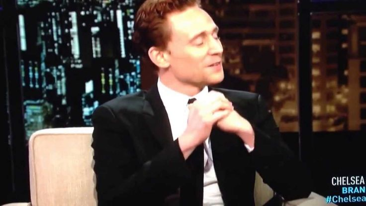 Tom Hiddleston on Chelsea Lately..she is sooo funny