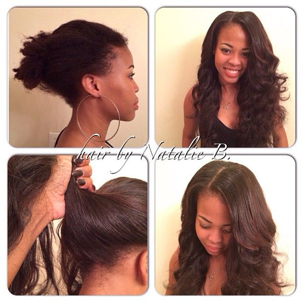 Hair Extensions Sewn In Before And After Image Collections Hair
