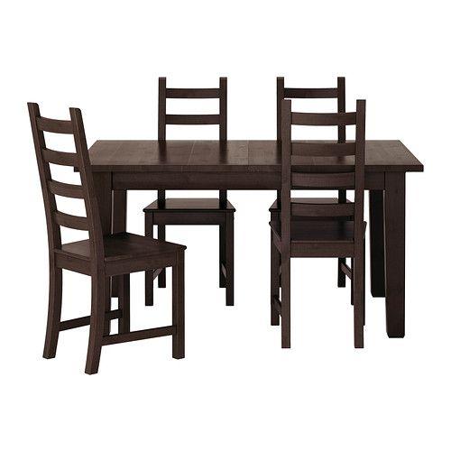 STORNÄS / KAUSTBY Bord og 4 stoler IKEA