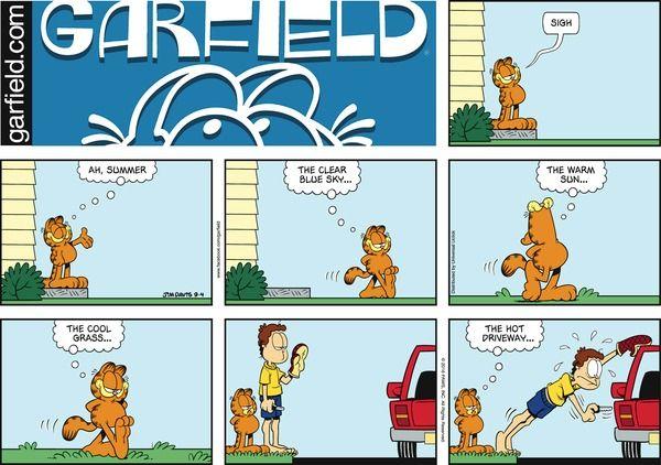 Garfield Comic Strip, September 04, 2016     on GoComics.com