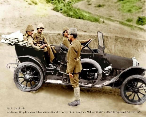 Atatürk'ün Çanakkale'deki ilk fotoğrafı - The first photo of Atatürk in Canakkale