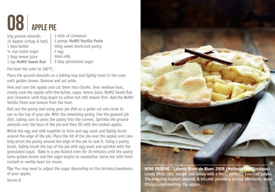 Nomu Recipe Cards Apple Pie